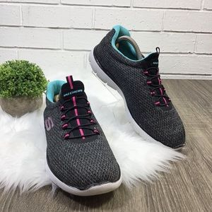 Skechers | Summits Quick Getaway Gray Sneakers